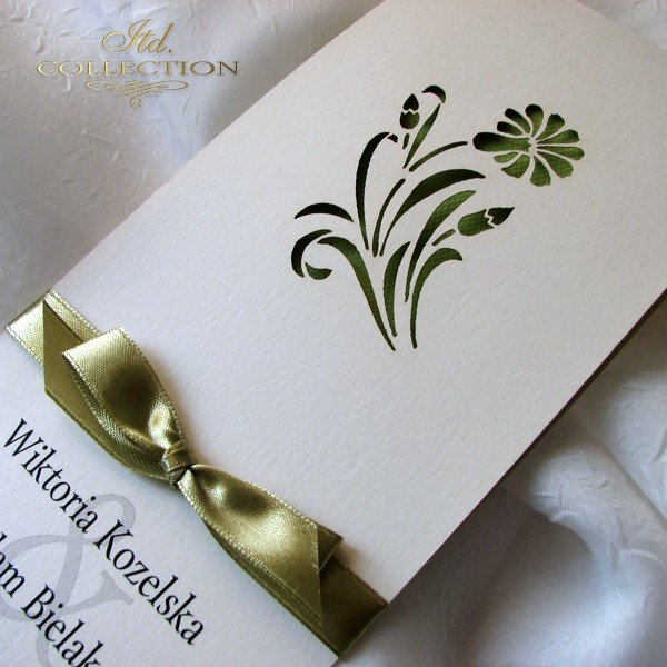 Invitations / Wedding Invitation 01722_62_bright_green