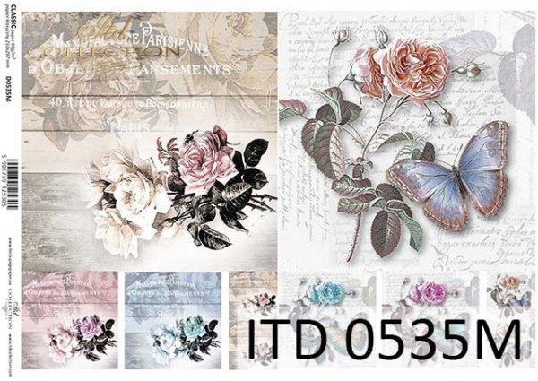 Decoupage paper ITD D0535M