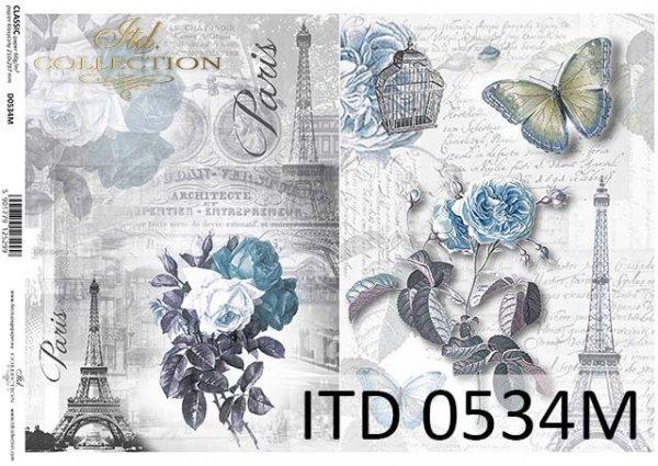 Decoupage paper ITD D0534M