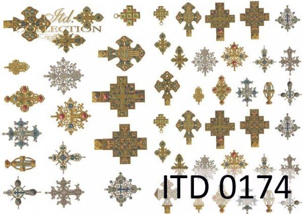 Decoupage paper ITD D0174M