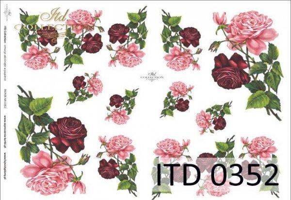 Decoupage paper ITD D0352M