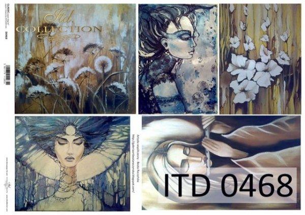 Decoupage Paper ITD D0468M