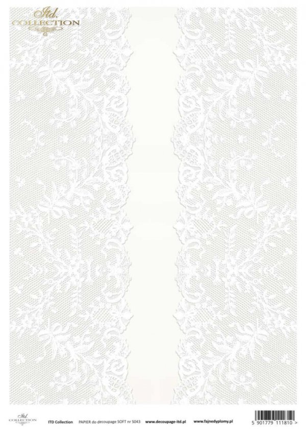 Decoupage paper Soft ITD S0043