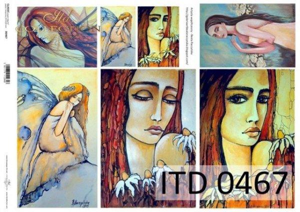 Decoupage Paper ITD D0467M