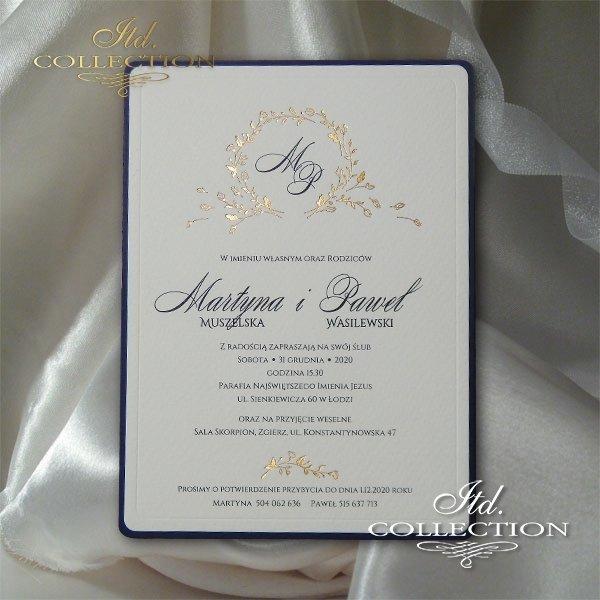 Zaproszenia ślubne, zaproszenia weselne, zaproszenia na ślub, zaproszenia na wesele, zaproszenia Łódź
