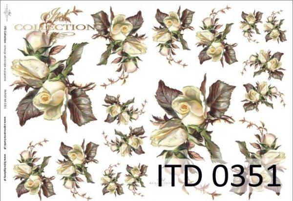 Decoupage paper ITD D0351M
