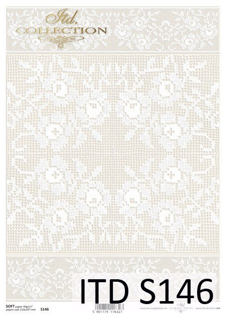 Decoupage paper Soft ITD S0146