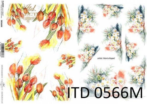 Decoupage paper ITD D0566M