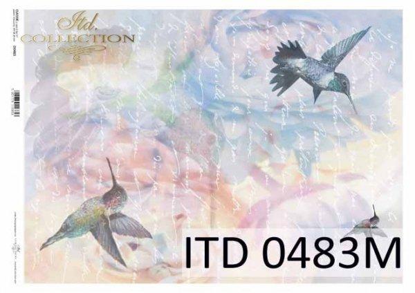 Decoupage paper ITD D0483M