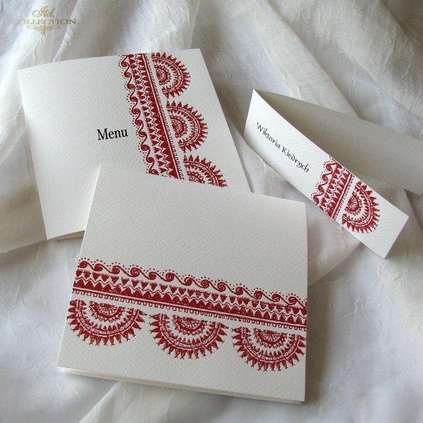 Invitations / Wedding Invitation 1717