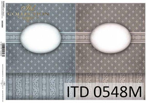 Decoupage paper ITD D0548M