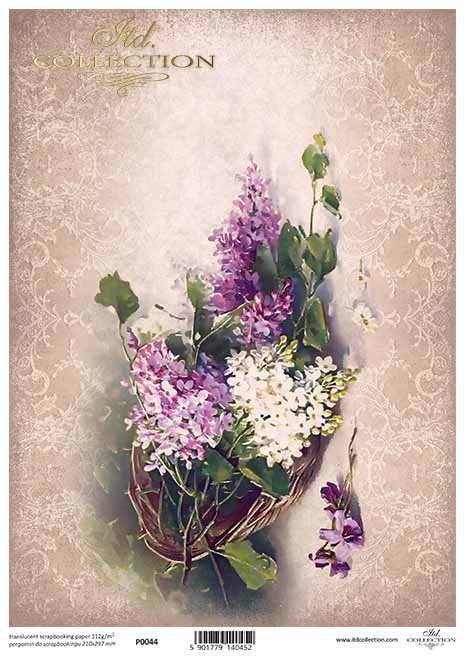 flores de papel decoupage, arreglos florales*Papier-Decoupage-Blumen, Blumengestecke*цветочные композиции, цветочные композиции