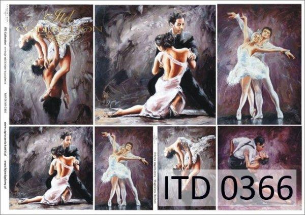 Decoupage paper ITD D0366M