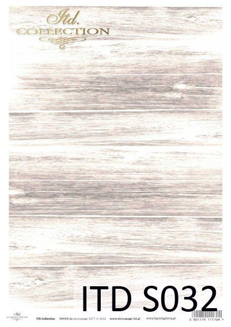 Decoupage paper Soft ITD S0032