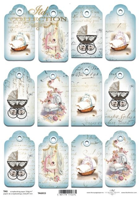 Tags, frames to scrapbooking TAG0015