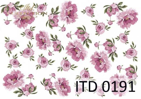 Decoupage paper ITD D0191M