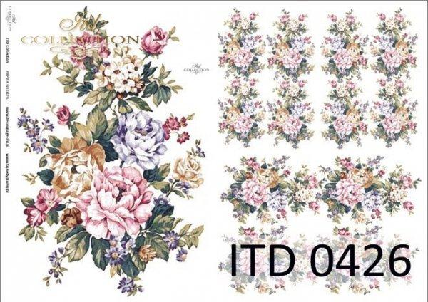 Decoupage paper ITD D0426M