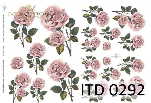 Decoupage paper ITD D0292M