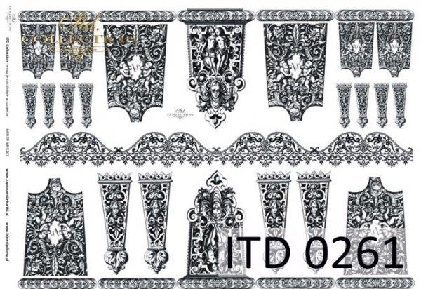 Decoupage paper ITD D0261M