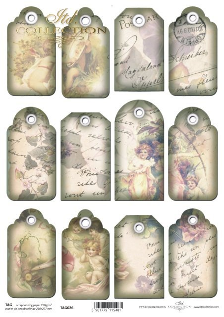 Tags, frames to scrapbooking TAG0026