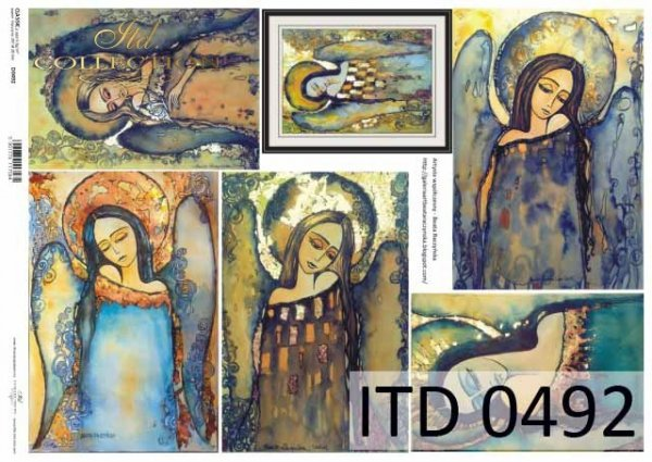 Papier decoupage ITD D0492