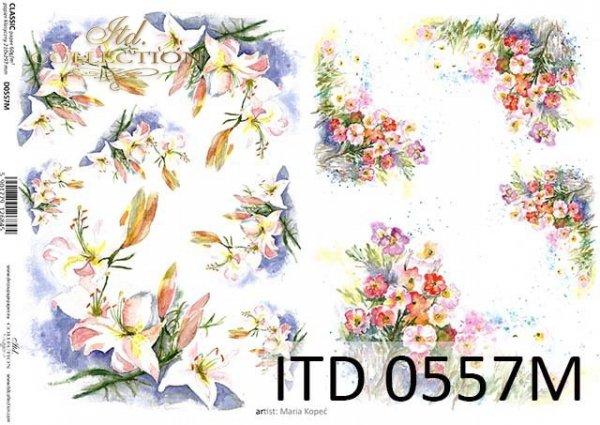 Papier decoupage ITD D0557M