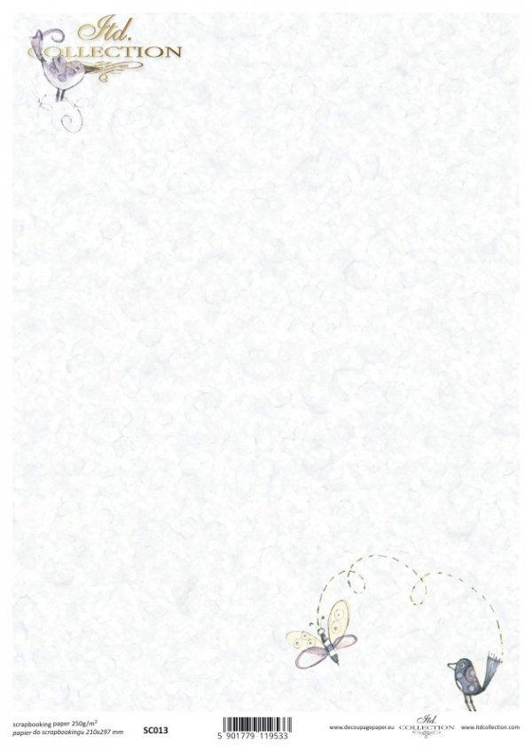 Papier scrapbooking SC0013