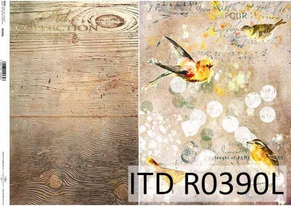 Papier ryżowy ITD R0390L