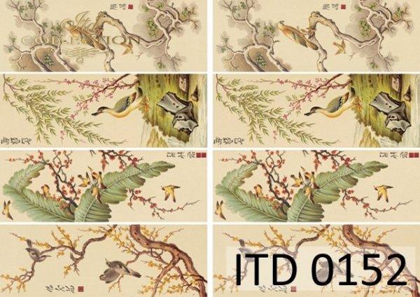 Papier decoupage ITD D0152