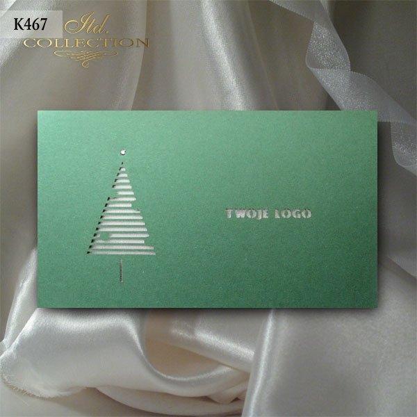 Kartki świąteczne / Kartka bożonarodzeniowa K467