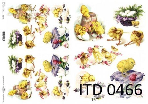 Papier decoupage ITD D0466