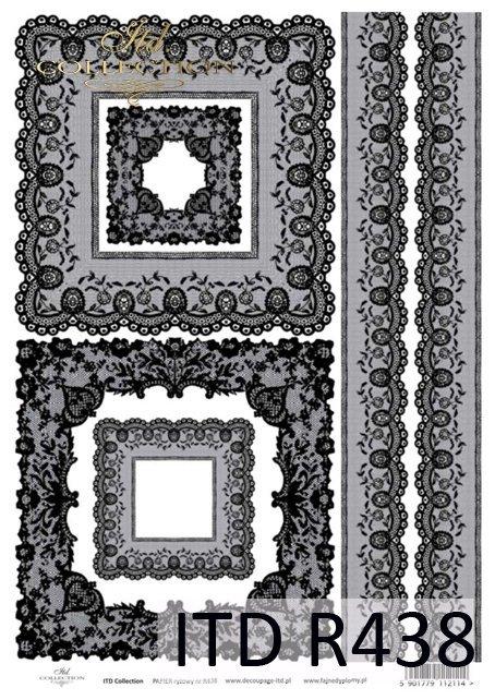 koronka, koronki, robótki ręczne, koronkowy, koronkowe, koronkowa, R438