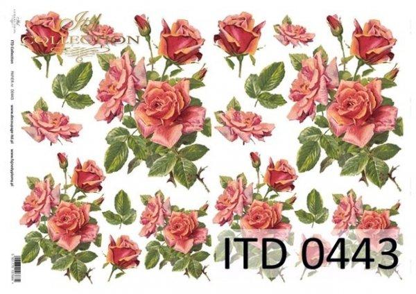 Papier decoupage ITD D0443