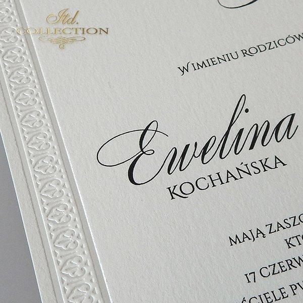 Zaproszenia ślubne / zaproszenie 2026
