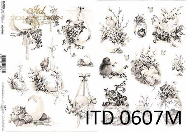 Papier decoupage ITD D0607M