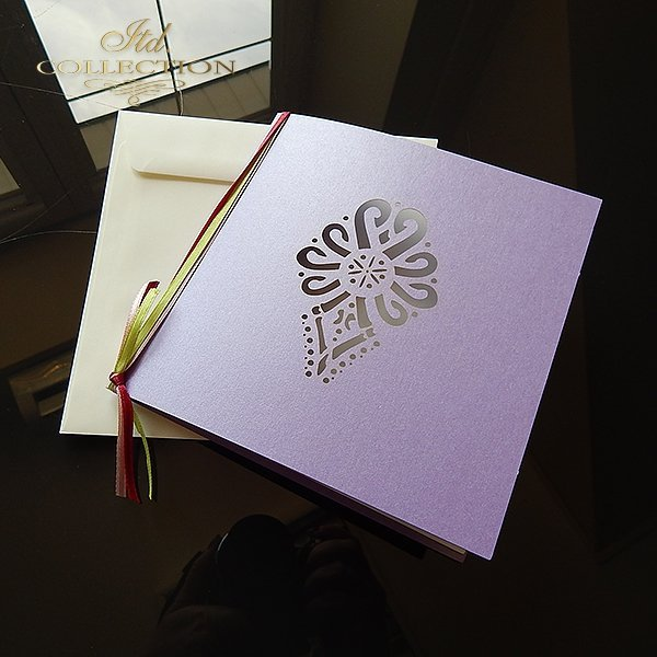 Zaproszenie biznesowe ZB1029 z kopertą