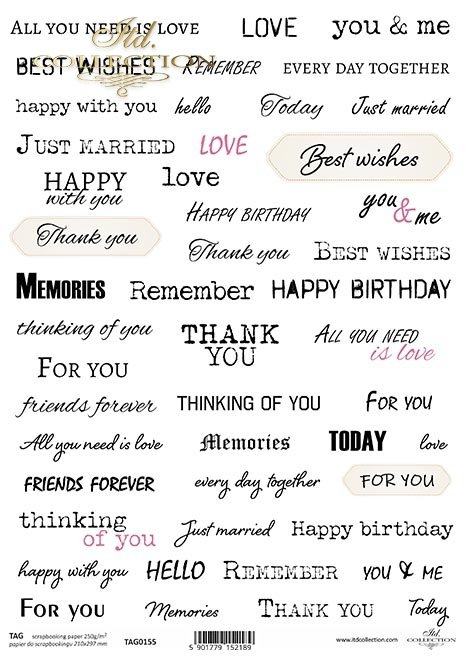 napisy, słowa, inskrypcje, podpisy, życzenia, tagi*Inscriptions, words, inscriptions, signatures, wishes, tags
