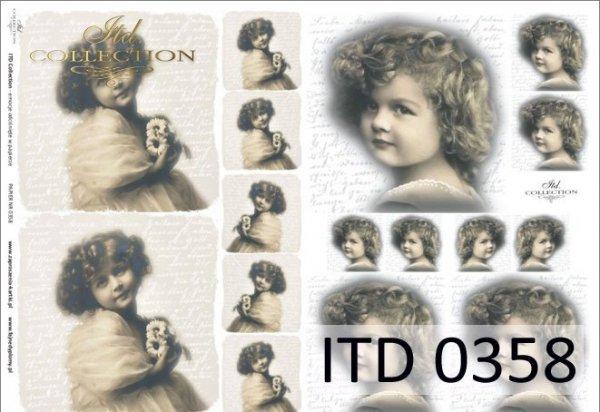 Papier decoupage ITD D0358M