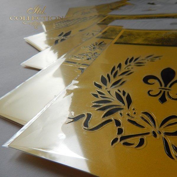 .szablon - maska do scrapbookingu 16x16 cm ST0101B