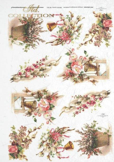 Easter, flowers, spring, eggs, Easter eggs, R301