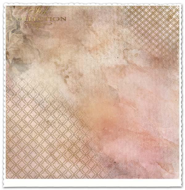 Papier do scrapbookingu - róże herbaciane*Paper for scrapbooking - tea roses