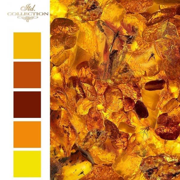 Mini zestaw - Zanurzone w bursztynie * Mini set - Submerged in amber - colours 1