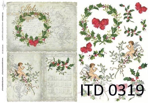 Papier decoupage ITD D0319M