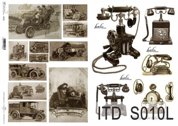 Papier decoupage SOFT ITD S0010L