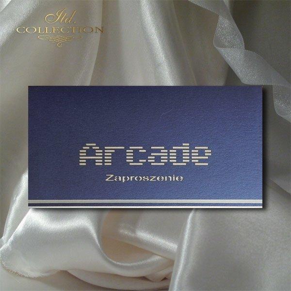 Zaproszenie biznesowe ZB1037 z kopertą