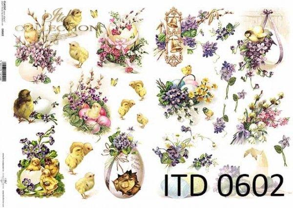 Papier decoupage ITD D0602