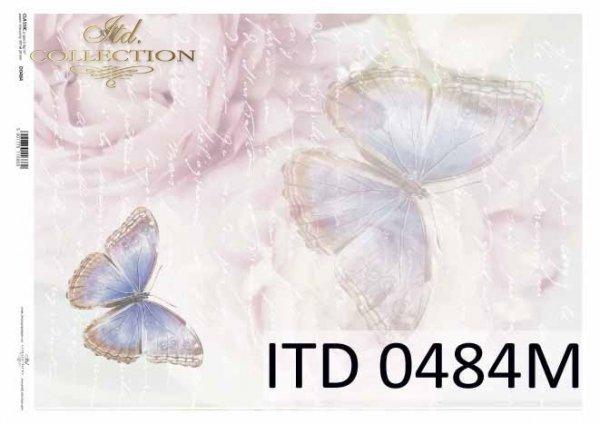 Papier decoupage ITD D0484M