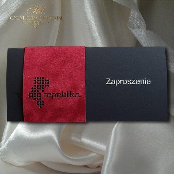 Zaproszenie biznesowe ZB1053 z kopertą