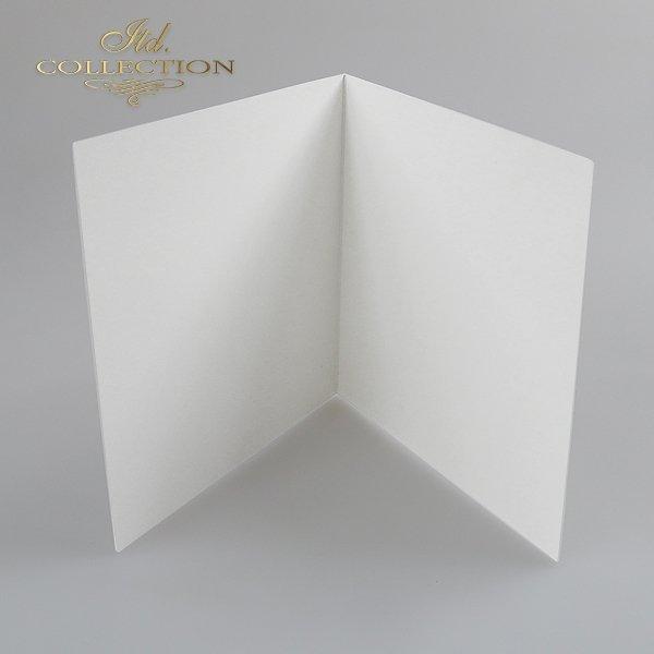 Baza do kartki BDK-008 152x152 mm * Biel naturalna
