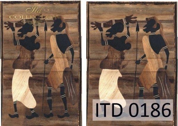 Papier decoupage ITD D0186